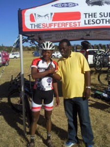 Special congratulations for the winner of the day - Phetetso Monese.